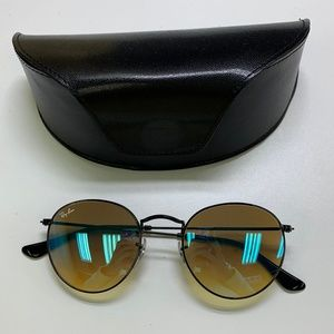🕶️Ray-Ban RB3447 Round Sunglasses/917/VT521🕶️